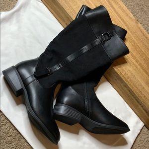 Brand new London Fog black boots.